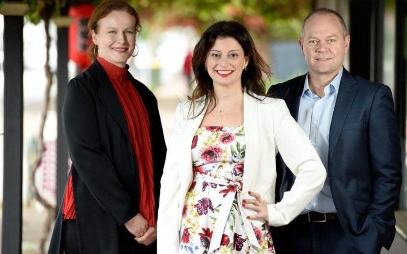 SA Business Buddy Program: Adam Griffiths Andrea Michaels Steph Dumas